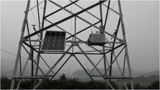 采用定向测高技术测定电塔的高度,从而监测杆塔的实时沉降量; 3.